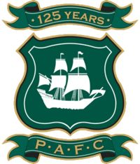 Plymouth Argyle.  My Dad was a strong supporter of this Football Club.
