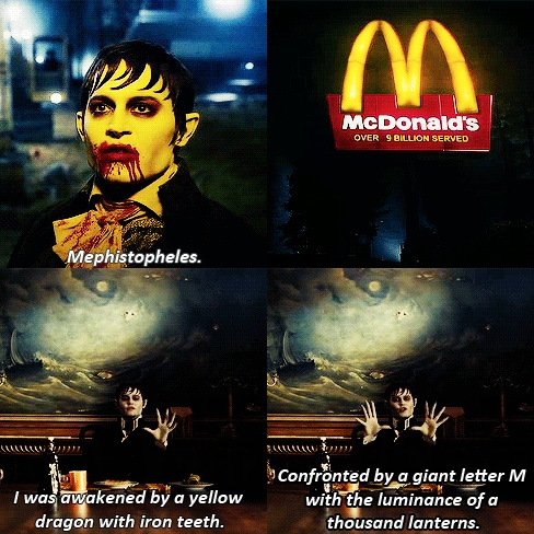 This movie is very very funny and this is one of my favorite scenes from dark shadows. ♡ johnny depp ♡