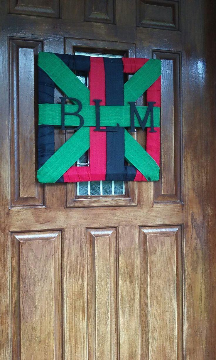 8 best #BlackLivesMatter Door Wreath images on Pinterest   Red ...