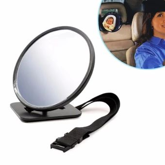ขอแนะนำ  Adjustable Car Rear View Baby Safety Mirror for Rear Facing Mirrors- intl  ราคาเพียง  549 บาท  เท่านั้น คุณสมบัติ มีดังนี้ External Testing Certification:CCC Material Type:Glass,Plastic Item Width:7.48 inch Special Features:Car Baby Rear View Mirror