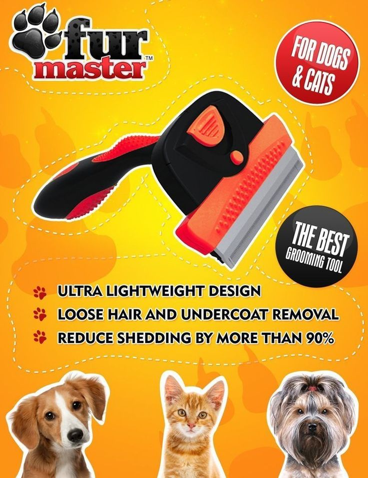 DESHEDDING AND PET GROOMING TOOL - Comb Rake Trimmer Brush New - Hair Shedding