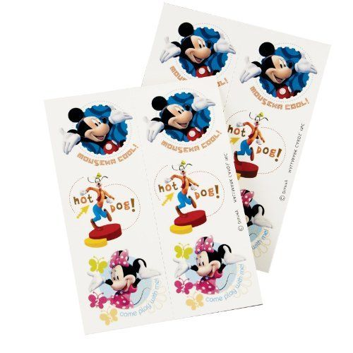 105 best toys games novelty gag toys images on for Disney temporary tattoos mickey mouse
