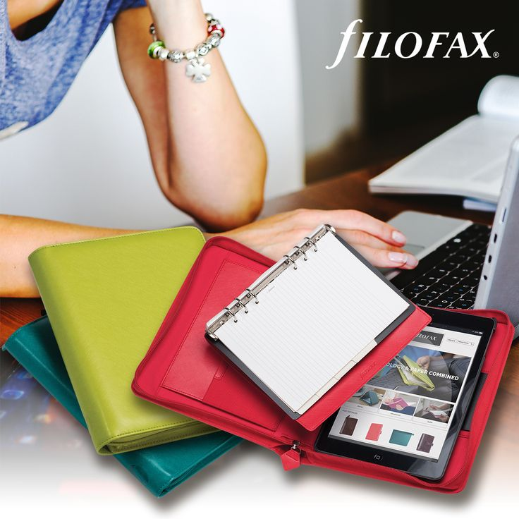 Filofax Saffiano Tablet Organisers - 2016