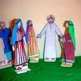 """En lien avec la proclamation de l'évangile de la Samaritaine Jean 4, 1-26 (3ème dimanche de Carême A), nous vous proposons une lecture d'image sur l'œuvre de Duccio di Buoninsegna : """"Le Christ et la Samaritaine"""" ."""