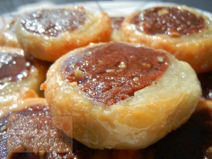 Εύκολα νηστίσιμα ροξάκια με σφολιάτα - Νόστιμες Συνταγές