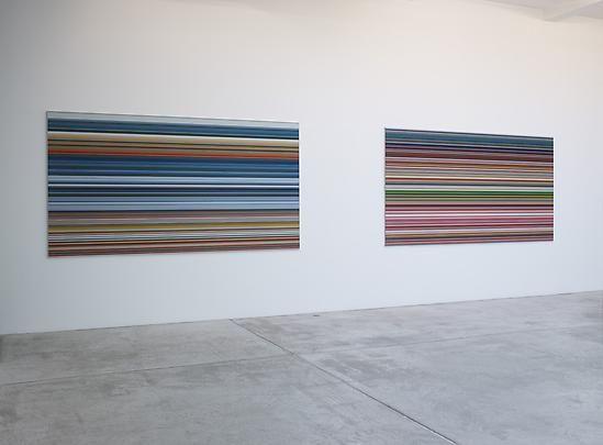 Installation view, Gerhard Richter, Painting 2010-2011, Marian Goodman Gallery, Paris