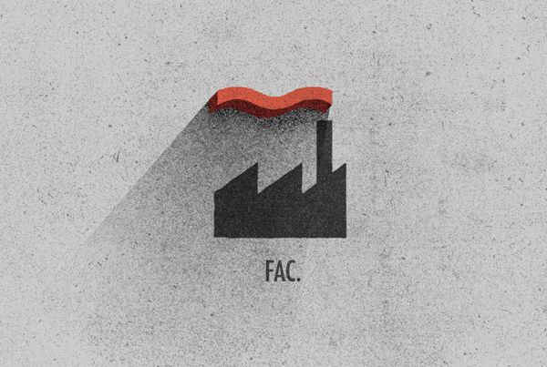 Record Label Rebrands by Ben Geier, via Behance