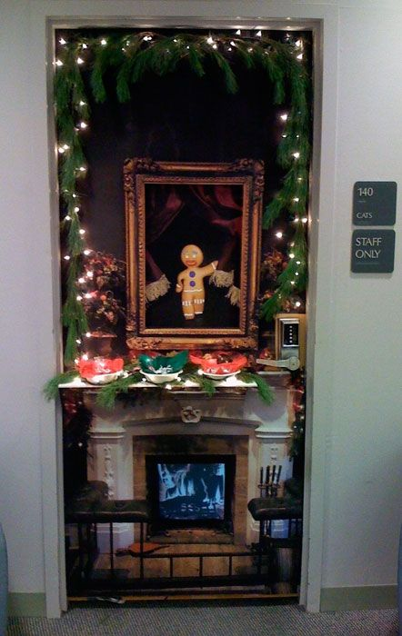 holiday door decorating contest ideas - Google Search