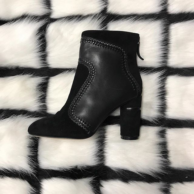 Ultimate style statement! Our #tuesdayshoesday are these irresistible Florsheim Dorcas Contrast Leather Ankle Boot (#518888) available now for $249! Find your winter wardrobe staple on our website!