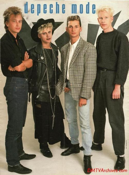 Depeche Mode in 80's