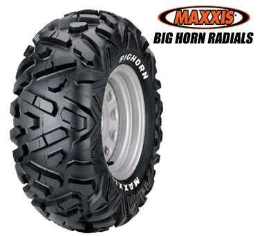 My next tires!! Discount UTV Tires ATV Tires and Wheels - MAXXIS BIGHORN RADIAL RWL 25X8X12, $118.99 (http://www.discountutvtires.com/MAXXIS-BIGHORN-25x8x12-RADIAL-rwl-ATV-TIRES-UTV-TIRES/)