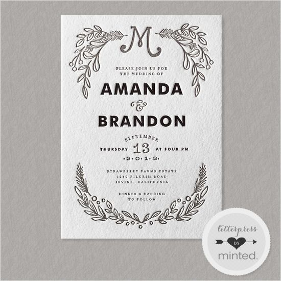1000+ Ideas About Framed Wedding Invitations On Pinterest