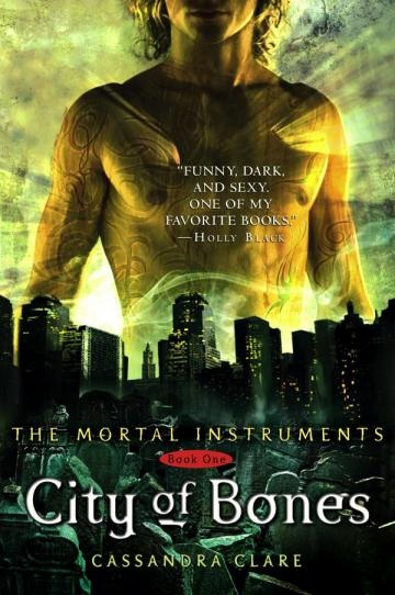 """City of Bones"" by Cassandra Clare is an AMAZING book. I am reading it right now, only less than 100 pages away from the big final and I cannot wait!"