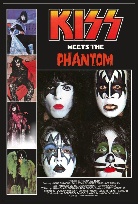 KISS Meets The Phantom Of The Park Stand-Up Display