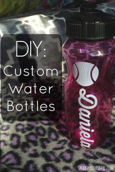 DIY: Custom Water Bottle - A Cricut Explore Project!
