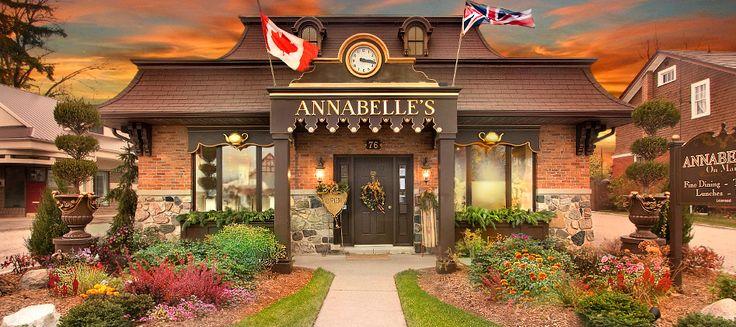 Annabelle's Tea Room - Kingsville, Ontario Canada (Sooo fantastic!)