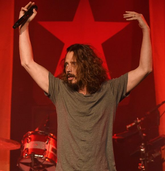 Chris Cornell Photos Photos - Singer Chris Cornell performs at Prophets of Rage and Friends' Anti Inaugural Ball at the Taragram Ballroom on January 20, 2017 in Los Angeles, California. - Prophets Of Rage And Friends' Anti Inaugural Ball  #chriscornell #soundgarden #audioslave