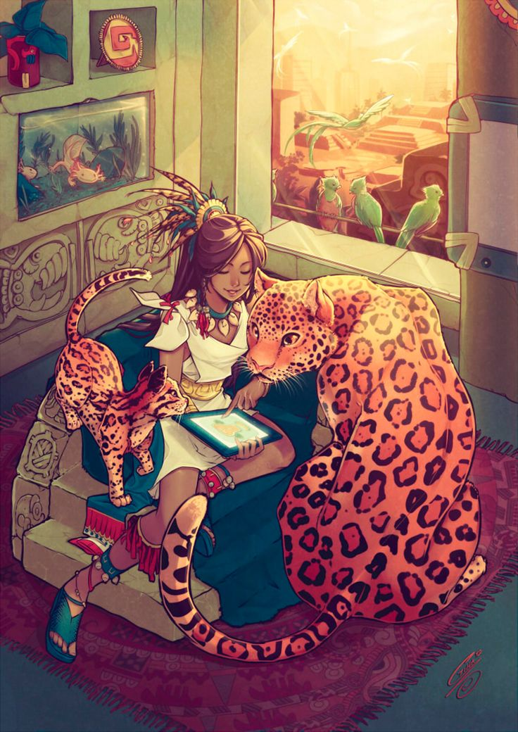 fantasy art, leopard and ocelot, kitty love Fantasy Anime, Fantasy Kunst, Fantasy Art, Character Inspiration, Character Art, Image Manga, Mexican Art, Fan Art, Cute Art