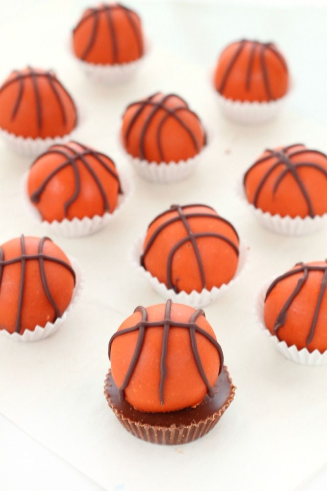 March Madness - Reese's peanut butter and chocolate truffles