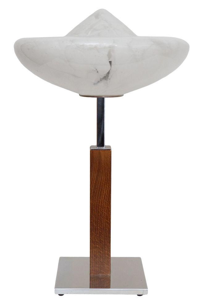 Design Unikat Bauhaus Art Deco Tichlampe Schreibtisch Chrom