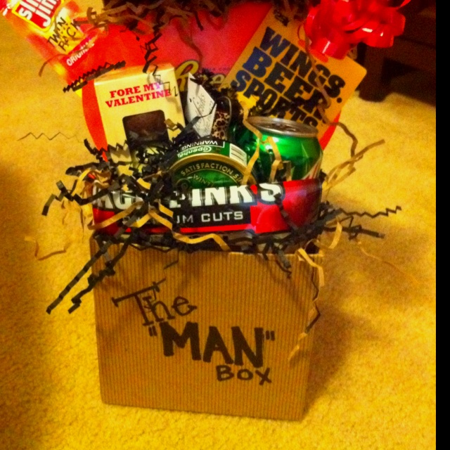 i made this for scotty for valentines day but - Manly Valentine Gifts