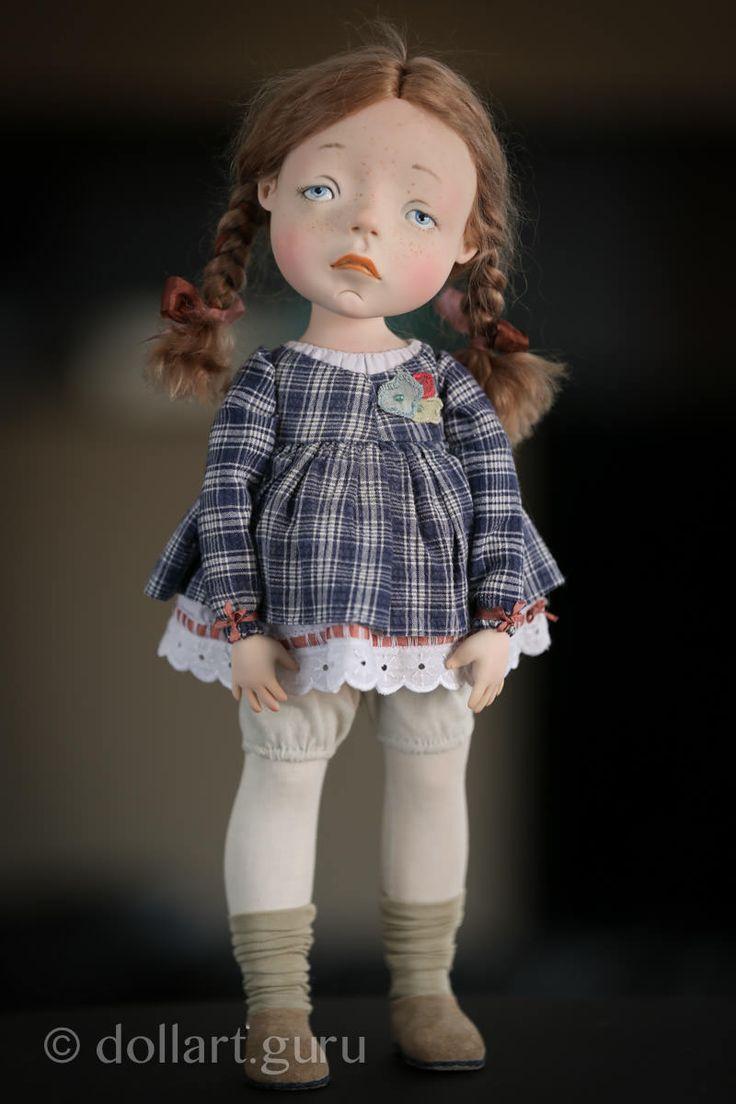 Соня. Авторская кукла Натальи Мурашовой | Doll Art Guru