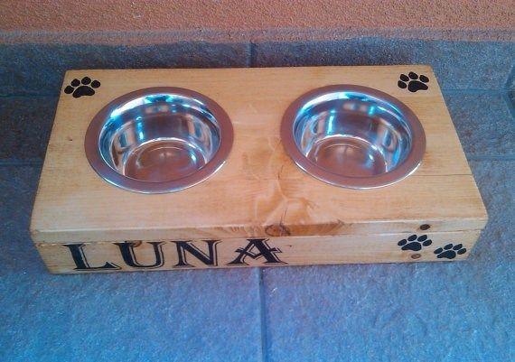 Logotipo personalizado de madera de alimentación animal, De madera del Animal doméstico tazón caja para perro, Gato-imagen-Bolsa y Comederos de Mascotas-Identificación del producto:60118823772-spanish.alibaba.com