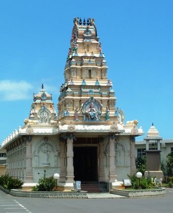 Hindu Temple, Port Louis, MAURITIUS