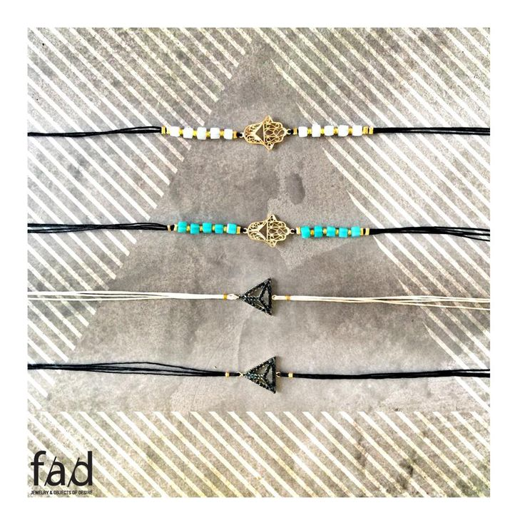 Summer Handmade bracelets! Only at FAD Naousa!