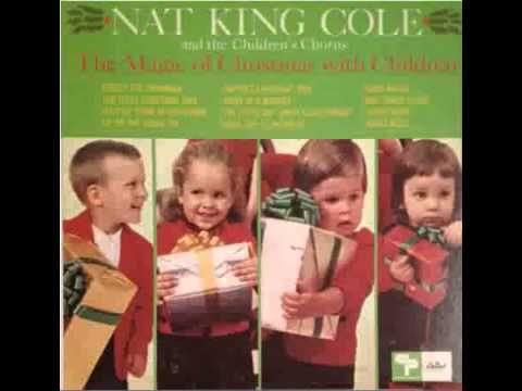 Nat King Cole & Children's Chorus - The Happiest Christmas Tree - YouTube | Nat king cole, Nat ...