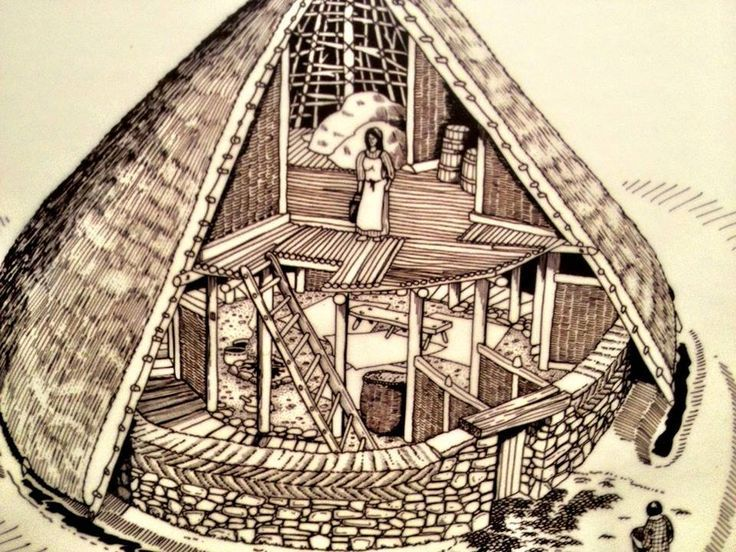 how large is a celtic roundhouse - Google Search