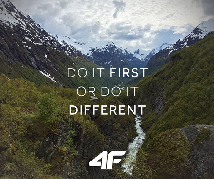 Do it first or do it different.  #quotes