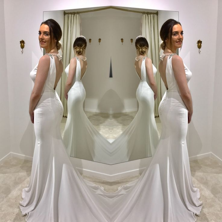 Janine by Blue by Enzoani in Zadika Bridal fitting room