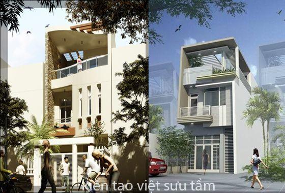 mẫu nhà lô phố 2 tầng đẹp http://kientrucnhapho.com.vn/nha-pho-dep/