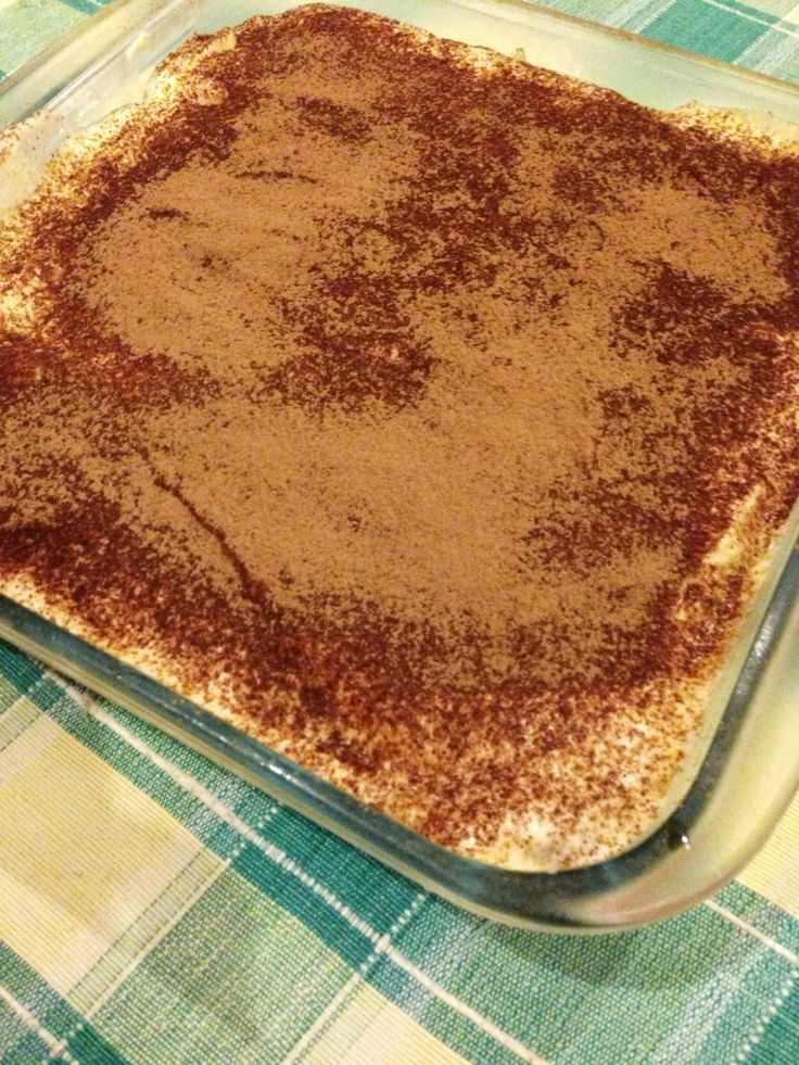 my masterpiece - tiramisu. made for thea lucas #mood4cook