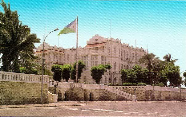 Presidential Palace, Djibouti où Palais du gouverneur du temps de la côte francaise des somalis