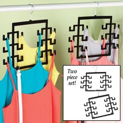 $9.99 - Tank Top Hangers - Set of 2