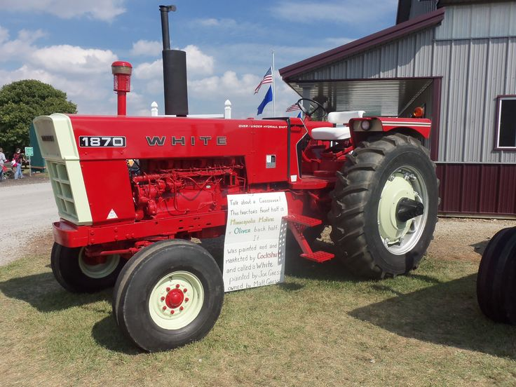 195 White Tractor : Best tracteur white images on pinterest old tractors
