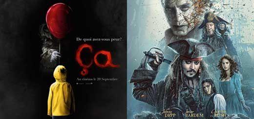 Neo05 : La bande-annonce de Ça, en vost, avec son affiche, le best-seller de Stephen King, remake pour Septembre 2017. Pirates de Caraïbes 5, new Teaser.