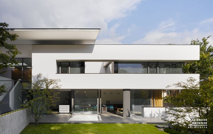House Heidehof, Stuttgart by Alexander Brenner Architects