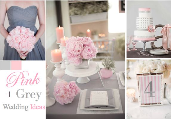 wedding ideas pink and grey pink and grey wedding ideas for a wedding 28285