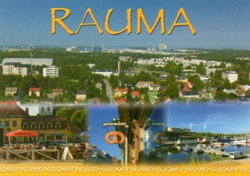 Rauma Postcard - Finland.