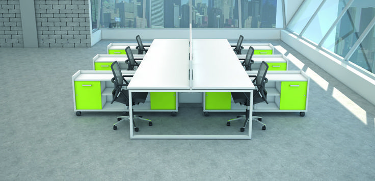 The Ibench Bench Desk Range Offers A Full Compliment Of Desking Pedestal And Storage Solutions