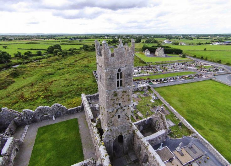 Claregalway Abbey. Photo by Stephan Mahlow