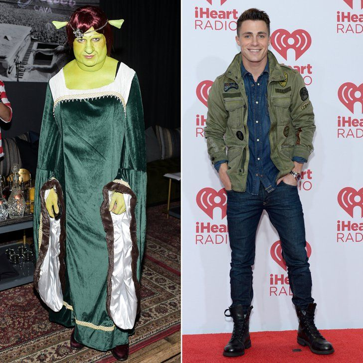Pin for Later: Colton Haynes's Halloween Transformation Needs to Be Seen to Be Believed