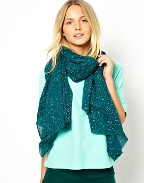 C-Starry Sky Bottle Green ScarfC Starry Sky, Bottle Green, Becksondergaard C Starry, Birthday Wishlist, Becksondergaard Starry, Belts Scarves, Aw13 Non Work, Scarf, Eye