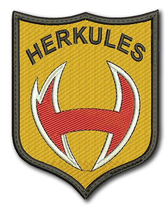 Naszywka Agencja Ochrony Herkules