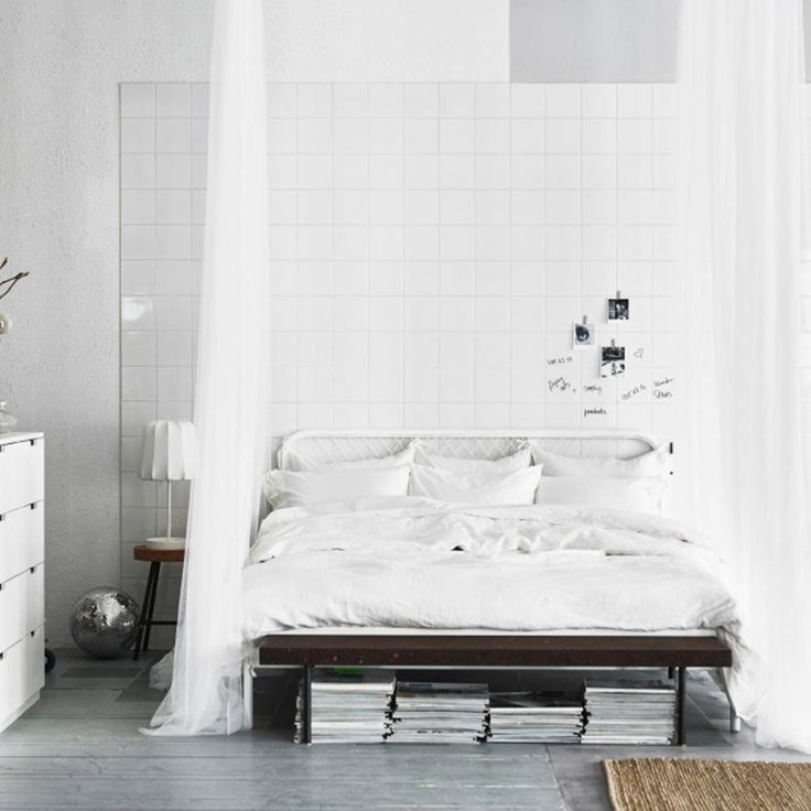 Les 25 meilleures id es concernant ikea chambre blanche - Les chambres blanches ...