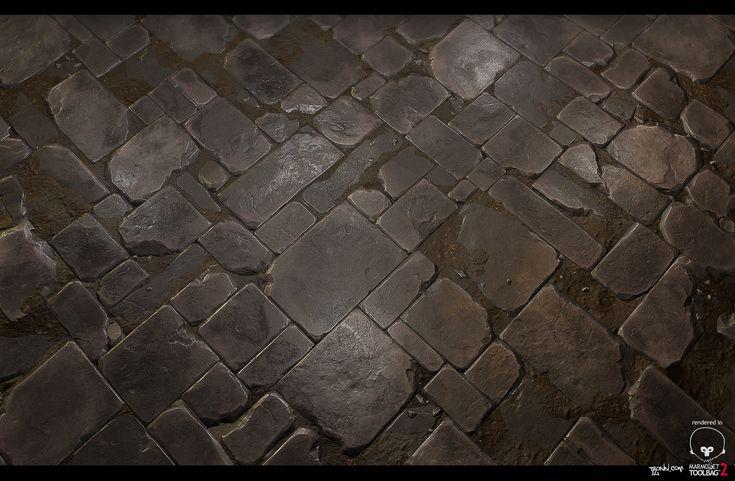 ArtStation - Stone_Floor_tile_02, Jonas Ronnegard
