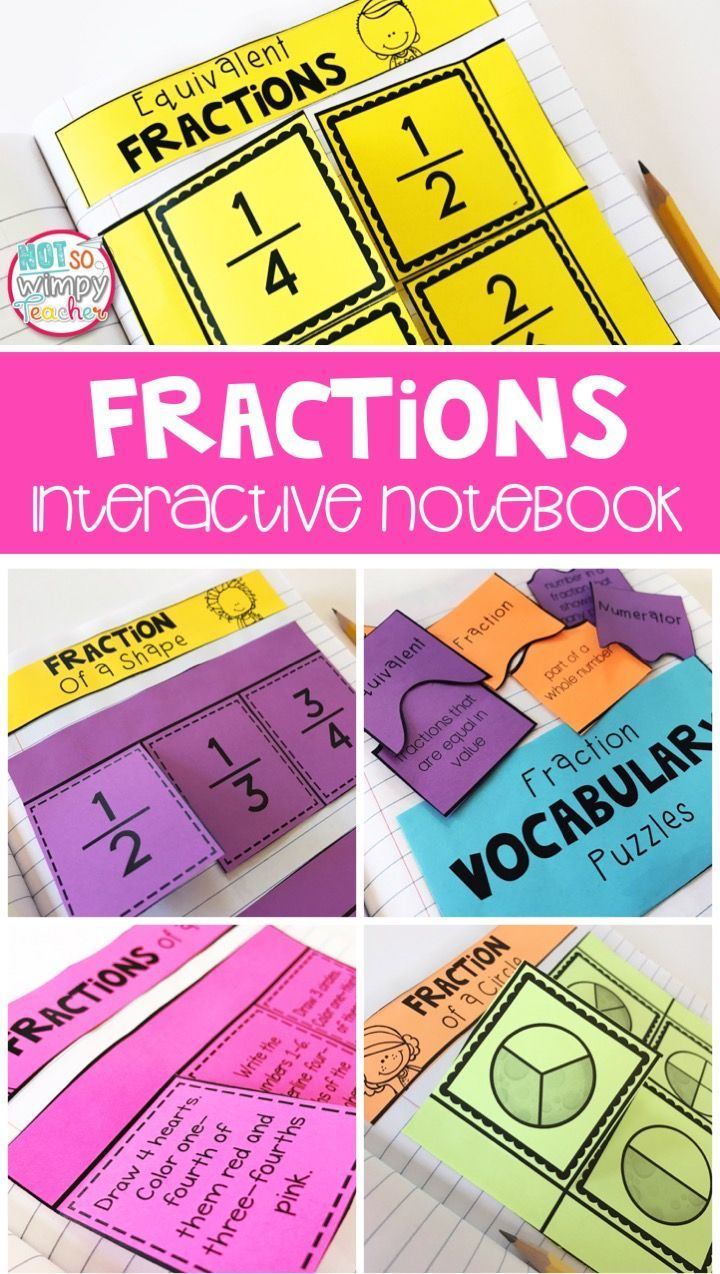 This fraction interactive notebook is perfect for centers or guided math groups. Students will practice skills that include comparing fractions, equivalent fractions and fractions on a number line. Perfect for 2nd, 3rd or 4th grade!